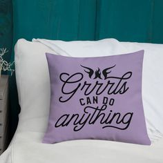 Accessories Archives - WarriorGrrrls Shopping Quotes, Power Nap, Do Anything, Color Splash, Bed Pillows, Shapes, Canning, Luxury, Fabric