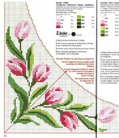 Handicrafts: Plans for embroidered tablecloths / Tablecloth cross stitch patterns Cross Stitch Kitchen, Just Cross Stitch, Beaded Cross Stitch, Cross Stitch Borders, Cross Stitch Flowers, Cross Stitch Charts, Cross Stitch Designs, Cross Stitching, Cross Stitch Embroidery