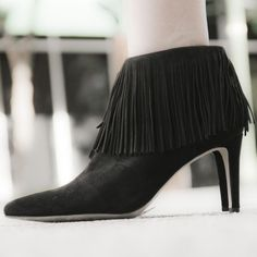 Sam Edelman Suede Fringe Booties So chic and perfectly on trend! Brand new in the box! No trades!! 022316310dr Sam Edelman Shoes Ankle Boots & Booties