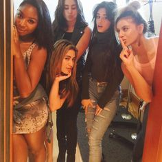 """Fifth Harmony on Instagram: """"Positive vibes in the studio. So excited for round 2! We're not goin nowhere ✌️#5h2"""""""