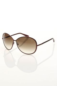 03e6f3757e0 Tom Ford Ladies  Sunglasses In Chocolate - Beyond the Rack