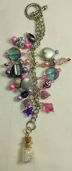 Pixie Dust Purse Charm   ~ available at https://www.etsy.com/shop/magic365