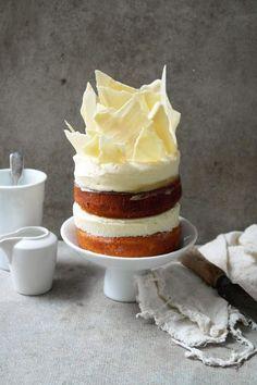 Lemon White Chocolate Cheesecake Layer Cake