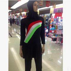 Cheap Swimwear For Muslim Women New 2018 Arab Muslim Swimwear Piece Swimsuit Conservative Swimsuit Hot Sale