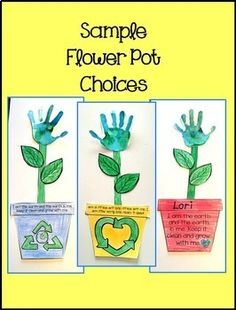 For an easy, fun, Earth Day handprint flower craft for kids, click the picture. Kids can make a difference! Earth Day Activities, Art Activities For Kids, Art For Kids, Play Activity, Earth Day Projects, Earth Day Crafts, Toddler Crafts, Preschool Activities, April Preschool