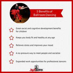 http://danzemuerte.com 5 Health Benefits of Ballroom Dancing. #ballroom #dance