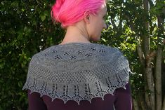 Ravelry: Winter is Coming Shawl pattern by Sally Cameron Pink Hair Designs.