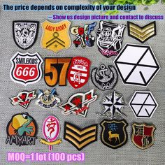 Patches Analytical New Arrival 10 Pcs Cartoon Embroidered Patches Iron On Jeans Coat Tshirt Bag Shoe Hat Motif Emblem Accessory Diy Ture 100% Guarantee