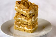 Salted Peanut Chews    (I have a friend who has been making this recipe for almost 40 years now, and they are my favorite cookie/bar on the planet!  So good!)