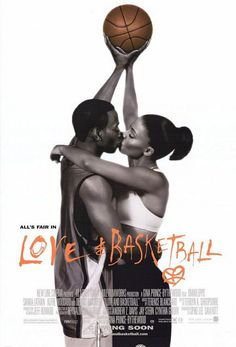 Love & Basketball is a 2000 American romantic drama film starring Omar Epps and Sanaa Lathan. The film tells the story of Quincy McCall and Monica Wright, two next-door neighbors in Los Angeles, California. Love And Basketball Movie, Basketball Movies, Basketball Posters, Basketball Couples, Basketball Girlfriend, Ucla Basketball, Basketball Shoes, Movies And Series, Enterprise Application Integration