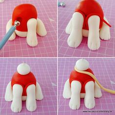 Pie Paw patrol with instructions for dog from modeling fondant Marshall – Mrs. Paulus Tortendrang Source by sopikogaghman Paw Patrol Birthday Cake, 4th Birthday Cakes, Paw Patrol Party, Torta Paw Patrol, Paw Patrol Cake Toppers, Cake Topper Tutorial, Fondant Tutorial, Paw Patrol Marshall, Fondant Animals