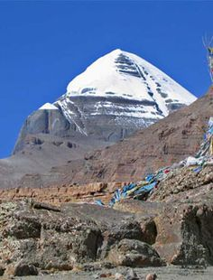 Mount Kailash, Tibet - my favorite mountain...someday I will make the trek around its base...