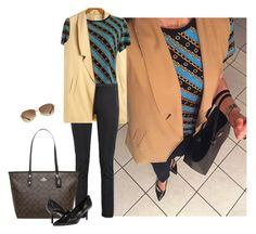 Untitled #3344 by elia72 on Polyvore featuring polyvore, fashion, style, Nine West, Ray-Ban and clothing #elia72