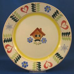 Pirtti plate by Arabia of Finland (1955-1970)