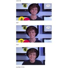 Ashton Irwin ❤ liked on Polyvore featuring ashton irwin