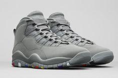 Official Images: Air Jordan 10 Cool Grey