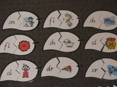 Printable Puzzle for Learning Letter Blends