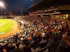 Winston-Salem Dash v. Myrtle Beach Pelicans July 4, 2012 by MarkGregory007, via Flickr