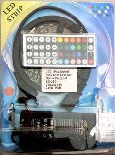 Kit banda LED RGB exterior 5m 72W