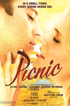 First look at the poster for Broadway's 'Picnic' with 'Lost' star Maggie Grace and Sebastian Stan -- EXCLUSIVE