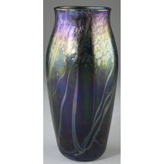 Tiffany Decorated Favrile Glass Vase Sold $6,500