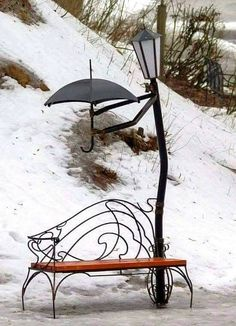 I don't care for the park bench.but the rest is sooo cute I don't care for the park bench.but the rest is sooo cute The post I don't care for the park bench.but the rest is sooo cute appeared first on Garden Diy. Yard Art, Metal Art, Garden Design, Street Art, Photos, Pictures, Landscape, Park, Cool Stuff