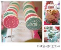 Christening Photography in Yorkshire - dessert table | Yorkshire Wedding & Portrait Photographer | Rebecca Honeywell Photography Blog