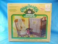 Plaid Cabbage Patch Kids Afghan Stenciling Kit My Little Girl Crochet Kit 26251  in Crafts, Needlecrafts & Yarn, Crocheting & Knitting, Crochet Kits | eBay