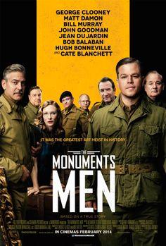 Un grupo de soldados poco preparado es enviado al  frente durante la segunda guerra mundial para rescatar obras de arte de manos de los nazis. Para saber si está disponible en la biblioteca y donde está, pincha a continuación: http://absys.asturias.es/cgi-abnet_Bast/abnetop?SUBC=441&ACC=DOSEARCH&xsqf01=monuments+men+clooney