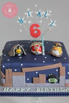 star wars angry birds cake - Google Search
