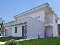Villa moderna in legno - Modern wooden villa - Wooden house Wooden House, Exterior Design, Pergola, Sweet Home, Design Inspiration, House Design, Mansions, House Styles, Interior