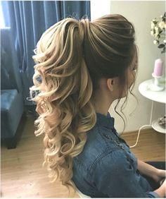 DIY-Pferdeschwanz-Ideen, die Sie bis 2019 wollen DIY Ponytail Ideas You Want to 2019 – DIY Ponytail Ideas You're Totally Going to Want to 2019 Formal Ponytail Hairstyle; Hairstyle for 2019 trend; High Ponytail Hairstyles, Daily Hairstyles, High Ponytails, Wedding Hairstyles, Ponytail Ideas, Ponytail Haircut, Hairstyles Haircuts, Beach Hairstyles, Prom Ponytail Hairstyles