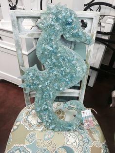 Seaglass seahorse