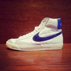 Instagram post by Sneakers76 • Feb 15, 2013 at 4 01pm UTC. Peau De Serpent Blazer. Nike Blazer mid   ... 5b71a3232eb0