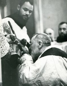 """St Pio on the Gifts of the Holy Spirit  """"""""Let's pray the Paraclete Spirit that He enlightens us about three thing:...click here to read  http://awestruck.tv/devotio/activity/p/519347/"""