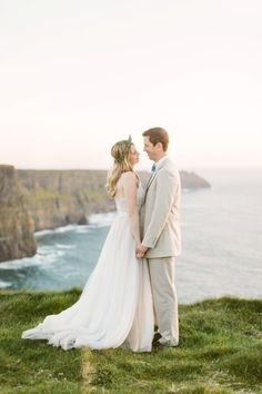 Ireland wedding: http://www.stylemepretty.com/2015/06/03/ireland-destination-wedding-at-corcomroe-abbey/ | Photography: Katie Mallory - http://www.katimallory.com/