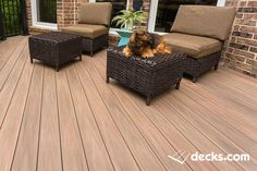 This is a custom Deck by Creative Concepts & Design, LLC of Kansas City. Deck products are: Tufboard PVC Hickory Flooring Westburty Aluminum Handrail Fortress deck lighting