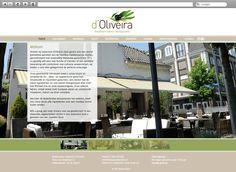 Klant: Oliveira. Gerealiseerd door Webbees: huisstijl, webdesign en technische realisatie. www.restaurantdoliveira.nl