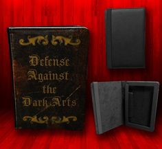 Harry Potter Inspired - Defense Against the Dark Arts Kindle Fire Leather Case