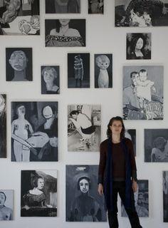 Helen Verhoeven met Werk copy