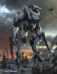 Artwork by Hugo Martin from the Art of Pacific Rim show. http://gnomongallery.com/shows/2013/pacific-rim/index.php