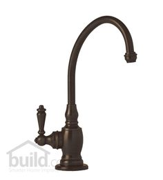 Waterstone 1200H Hampton Filtration Faucet Hot Only with Single Lever Handle Tuscan Brass Faucet Water Dispenser Hot Only