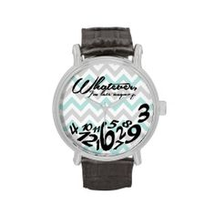 Clever idea. I can think of 100 people who need this. lol  #watch #gift