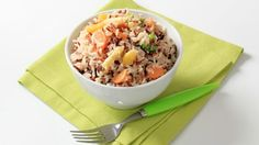 Wild Rice Salad with Slivered Almonds and Currants