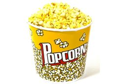 Popcorn Bucket, Candy Table Accessory - Vintage, Retro - Wedding / Event Supplies