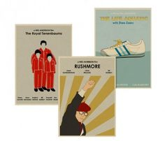 Wes Anderson prints by Monster Gallery >> Fun!