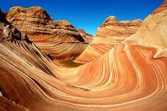 Conocer la formación de la Ola, Arizona