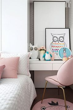 15 Modern Kids Study Desks That Kids Will Love Boy Room, Kids Room, Child Room, Kids Study Desk, Luxury Chairs, Ideas Hogar, Teen Girl Bedrooms, Master Bedrooms, Bedroom Layouts