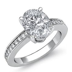 $6,199  -  * GIA CERTIFIED * 1.30 CARATS OVAL CUT DIAMOND ENGAGEMENT RING ON 14K SOLID WHITE GOLD F 26 D http://www.amazon.com/dp/B00M4GFRJ2/ref=cm_sw_r_pi_dp_qtOyub1Q58WY1