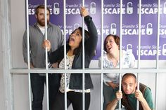 Can you escape in time? We have three escape room adventures to choose from! Individuals and corporate groups welcome!